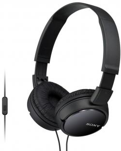 Sony MDR-ZX110APB fekete mikrofonos fejhallgató (MDRZX110APB.CE7)