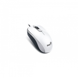 Genius Egér - DX-110 (Vezetékes, 1000 DPI, 3 gomb, USB, fehér)