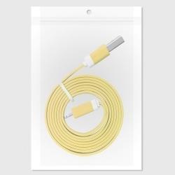 GT USB-Micro USB lapos sárga kábel (GT783639)