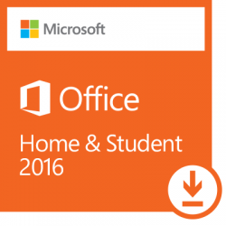 Microsoft Office 2016 Home and Student MAC ESD (GZA-00550)