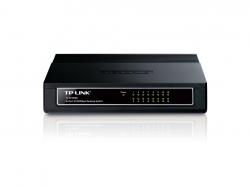 TP-LINK TL-SF1016D 16 portos 10/100Mbps asztali Switch