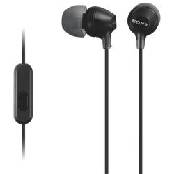 SONY MDR-EX15APB fekete fülhallgató