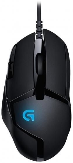 Logitech G402 Hyperion Fury USB optikai gamer fekete egér (910-004067)