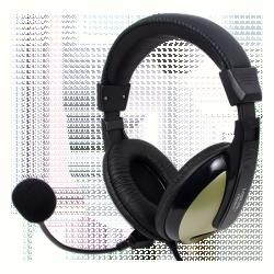 Logilink Kényelmes sztereó fejhallgató (HS0011)