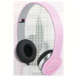 LogiLink mikrofonos fejhallgató, rózsaszín (HS0032)