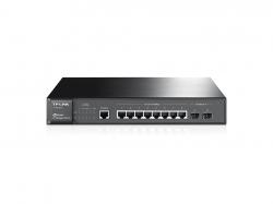 TP-LINK TL-SG3210 JetStream 8 portos gigabites L2 vezérelhető switch 2 db SFP csatlakozóval