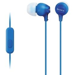 SONY MDR-EX15APLI kék fülhallgató