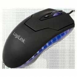 Logilink ID0009A USB lézer fekete egér