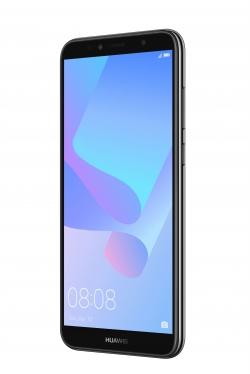 Huawei Y6 2018 Dual Sim Fekete Okostelefon (51092JHQ)