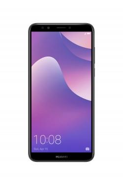 HUAWEI Y7 PRIME 2018 32GB Dual SIM fekete okostelefon (51092JHA)