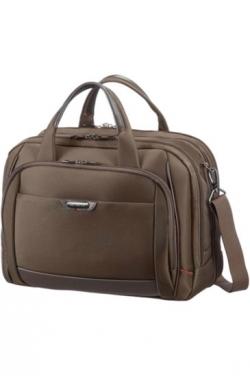 Samsonite Pro-DLX 4 Bailhandle Expandable 16'' barna notebook táska (35V-013-003)