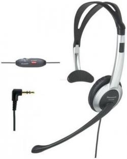 Panasonic RP-TCA430E-S fekete-szürke kezelői mikrofonos fejhallgató