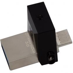 KINGSTON DataTraveler microDuo 3  16GB USB3.0 Fekete Pendrive (DTDUO3/16GB)