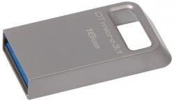 KINGSTON DataTraveler Micro 16GB USB3.1 Ezüst Pendrive (DTMC3/16GB)