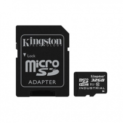 KINGSTON MEMÓRIAKÁRTYA MICROSDHC 32GB CLASS 10 UHS-I INDUSTRIAL TEMP + ADAPTER