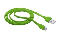 Trust LIGHTNING CHIP 1m zöld adatkábel (20130)