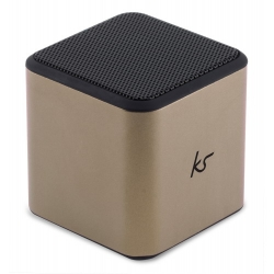 KitSound Cube Bluetooth Speaker arany (KWKSCUBBTGD)