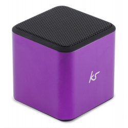 KitSound Cube Bluetooth Speaker lila (KWKSCUBBTPU)