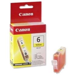 Canon BCI-6Y sárga tintapatron (4708A002)