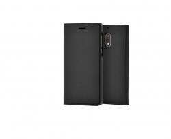 Nokia 6 flip cover tok Fekete