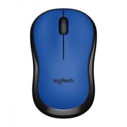 Logitech M220 wireless optikai kék-fekete egér (910-004879)