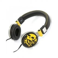 Omega FH0033Y Freestyle sárga-fekete fejhallgató