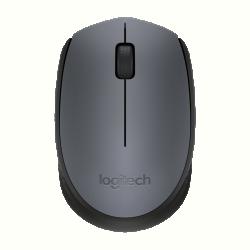 Logitech Egér - M170 (Vezeték nélküli, 3 gomb, 2,4 GHz, fekete)