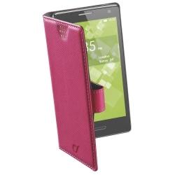Cellularline Book Case ''XXL'' univerzális rózsaszín telefontok (BOOKUNI2LP)