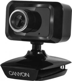 Canyon Enhanced USB mikrofonos fekete webkamera (CNE-CWC1)