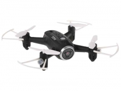 SYMA X22W QUADCOPTER/ DRONE (FEKETE) - 2,4 Ghz 4 CSATORNA (MAK17344)