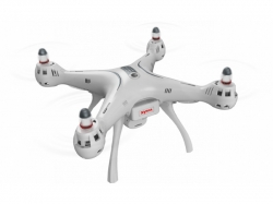 SYMA X8 PRO QUADCOPTER/ DRONE (FEHÉR) - 2,4 Ghz 4 CSATORNA WIFI/GPS (MAK17377)