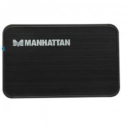 Manhattan Külső ház 2.5'' - USB 2.0, SATA, Fekete