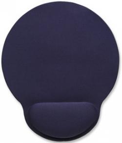 Manhattan 434386 zselés csuklótámaszos kék egérpad