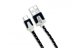 Media-Tech Micro USB kábel Fekete (MT5102K)