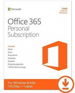 Microsoft Office 365 Personal 1 felhasználó / 1 év szoftver (QQ2-00012K)