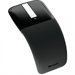 Microsoft ARC wireless BlueTrack fekete touch egér (RVF-00050)