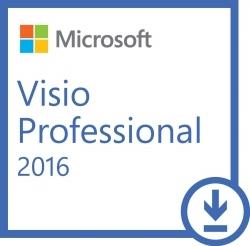 Microsoft Visio Professional 2016 ESD szoftver (D87-07114)