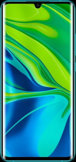 Xiaomi Mi Note 10 128 GB Zöld okostelefon