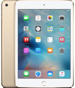 Apple iPad mini 4 Retina 7,9'' 128GB Wi-Fi Arany (MK9Q2)