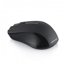 ModeCom Egér Notebook Vezeték Nélküli - WM9 OEM (Fekete; Optikai érzékelő; 1200DPI; micro vevő)
