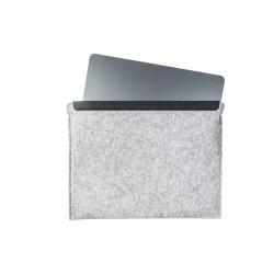 ModeCom Notebook Védőtok 15'' - Felt (szürke, mágneses zárórész, szövet)