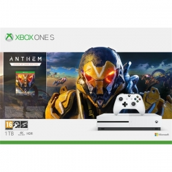 Xbox One S 1TB + ANTHEM + 1HÓ EA ELŐFIZETÉS (234-00947)