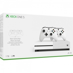 Microsoft Xbox One S 1TB + CONTROLLER HARD BUNDLE (234-00607)