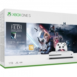 Xbox One S 1TB + STAR WARS JEDI FALLEN ORDER (234-01098)