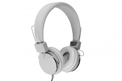 Media-Tech PICTOR Mikrofonos fejhallgató, fehér (MT3586W)