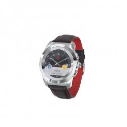 MYKRONOZ Smartwatch ZeTime premium polished carbon/red  (MYZETIMEPREMCARB)