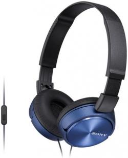 Sony MDR-ZX310APL kék-fekete mikrofonos fejhallgató (MDRZX310APL.CE7)