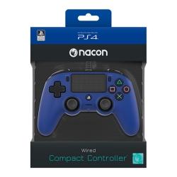 Playstation 4 Nacon vezetékes kontroller kék