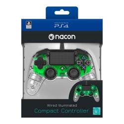 Playstation 4 Nacon vezetékes kontroller halványzöld