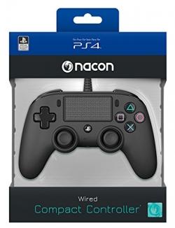 Playstation 4 Nacon vezetékes kontroller fekete